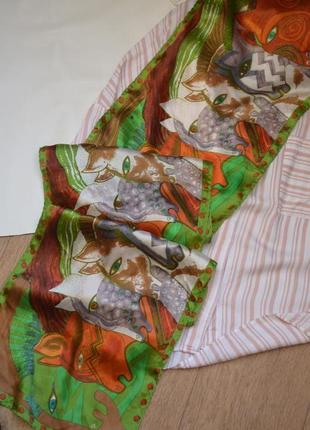 Стильный натуральный шелковый шарф с лошадьми в стиле hermes шелк платок