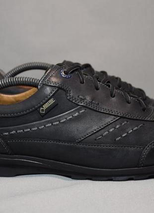 Туфли fretz men gtx gore-tex кроссовки мужские кожаные швейцария оригинал 42-43р/27.5см