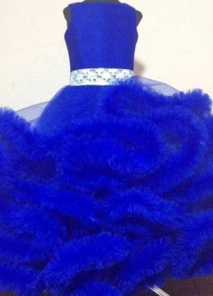 Нарядное платье облако