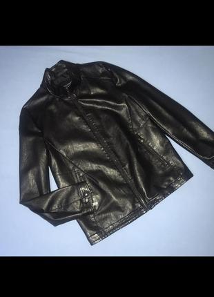Курточка пиджак эко кожа мужская