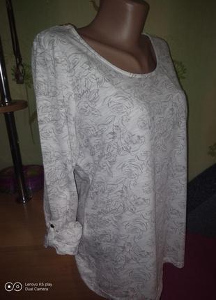 Классный лёгкий реглан, кофта, блуза трикотаж-m-l-xl- esmara