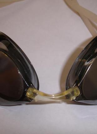 Фирменные очки для ныряния и бассейна затемненные