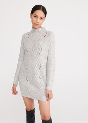Шикарный длинный свитер от reserved, м, польша