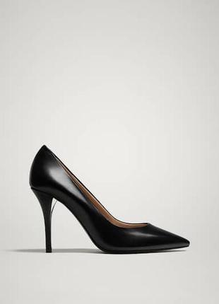 Туфли massimo dutti оригинал натуральная кожа новые испания