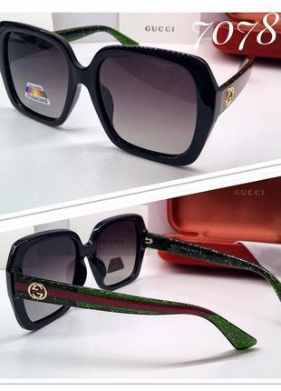 Модные женские поляризованные солнцезащитные очки!