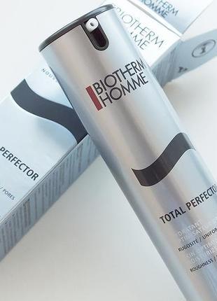 Крем для лица biotherm homme total perfector