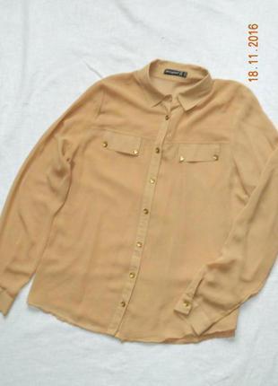 Блуза шифоновая (рубашка)