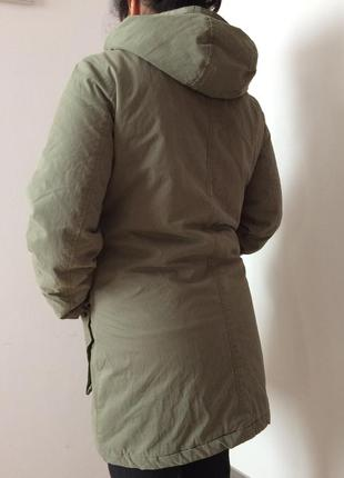 Куртка удлинённая h&m