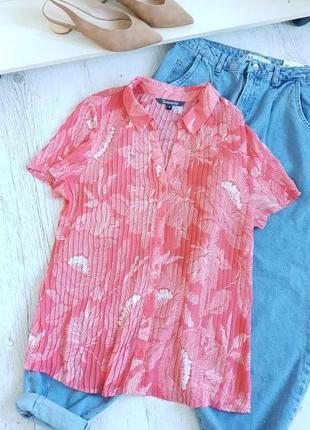 Блуза плиссе.