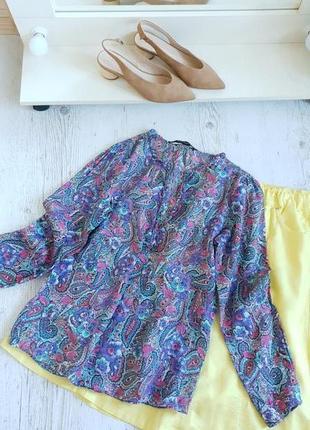 Блуза хлопок zara
