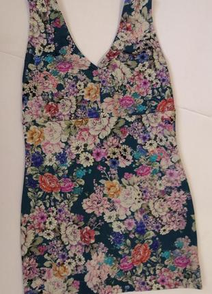 Брендовое платьеце pull&bear, размер 28, eur m