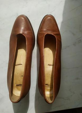 Туфли кожаные итальянские