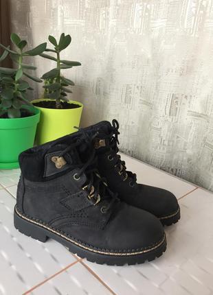 Очень крутые актуальные ботинки натуральные нубук