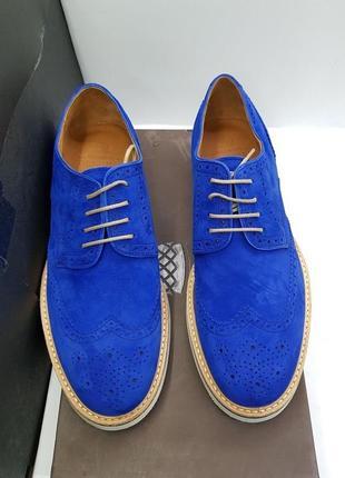 Весенние яркие туфли броги для повседневной носки от компании navy boot
