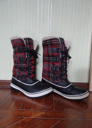 Skechers сапоги, ботинки зимние 38 размер 25 см продам