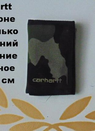 Carhartt камуфлированный портмоне на липучках