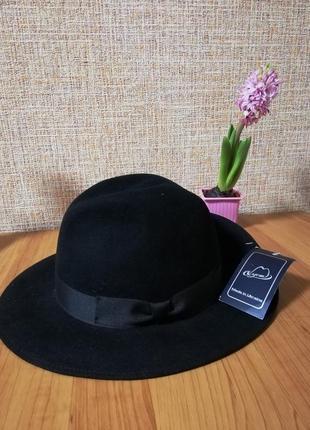 Замшева шляпа