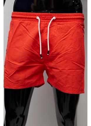 Шорты мужские пляжные gs 0343-4 красные