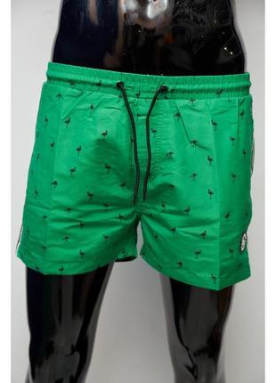 Шорты мужские пляжные gs 0341-2 зеленые