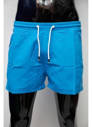 Шорты мужские пляжные gs 0343-1 синие