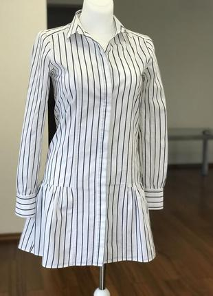 Брендовое платье-рубашка