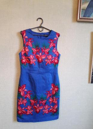 Шикарнейшее платье хлопок