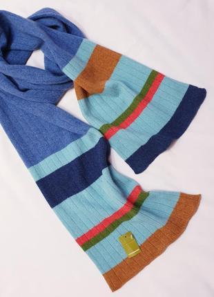 Katie mawson шарф натуральная шерсть ручная работа англия