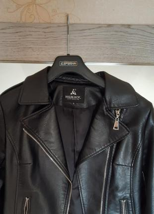 Кожаная куртка/ парка