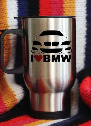 Термокружка автомобильная бмв bmw