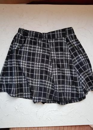 Женская короткая юбка, юбка солнце #розвантажуюсь