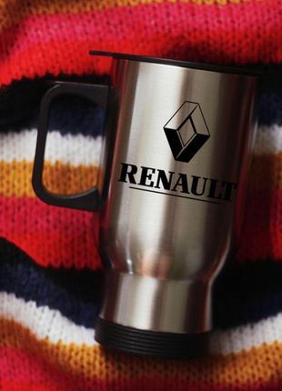 Термокружка автомобильная рено renault