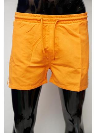 Шорты мужские пляжные gs 0331-3 оранжевые