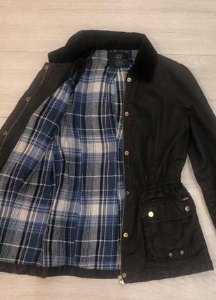 Куртка ветровка теплая непродуваемая милитари
