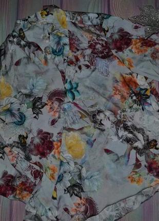 Женская блуза с запахом размер 48-50