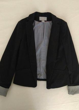 Стильный классический пиджак пиджак h&m