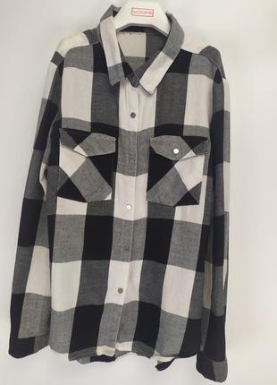 Фирменная котоновая рубашка