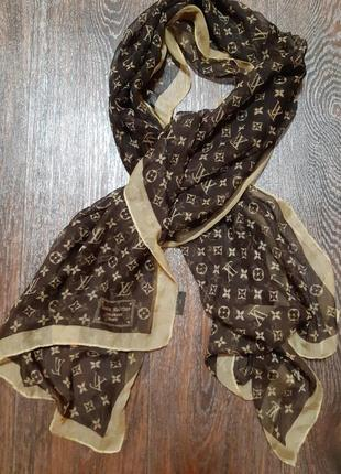 Платок шарф  louis vuitton оригинал