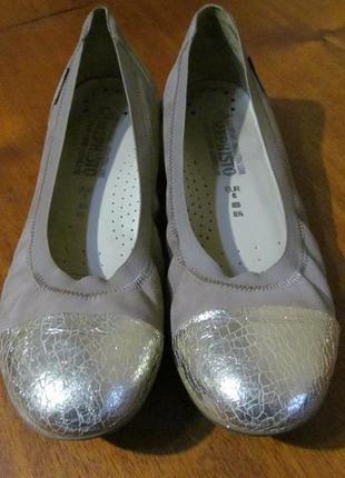 Туфли, балетки, мокасины mephisto