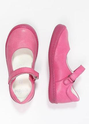 Кожаные туфли primigi, размер 24 и 25
