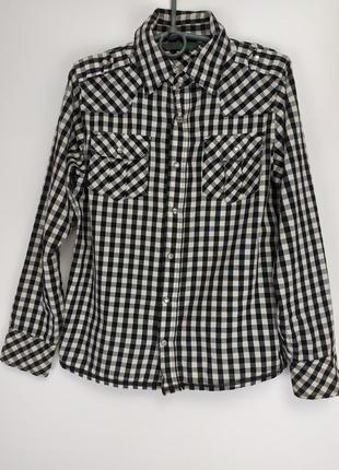 Фирменная котоновая рубашечка