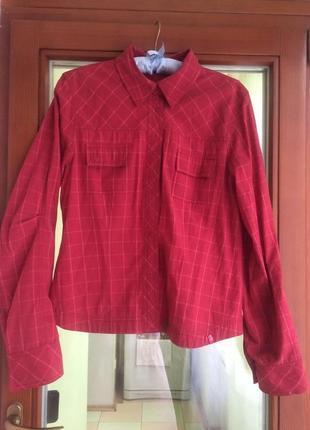 Хлопковая рубашка esprit