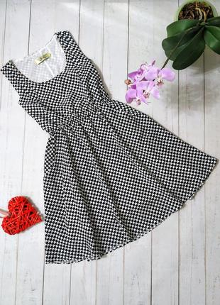 Платье в сердечки с карманами, london.