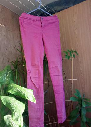 Розовые джинсы,  скинни , штаны,  брюки