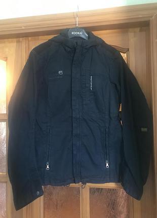 G-star raw куртка ветровка новая m черная бомбер пиджак