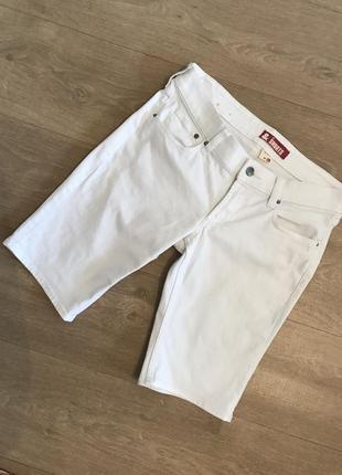 Белые шорты h&m