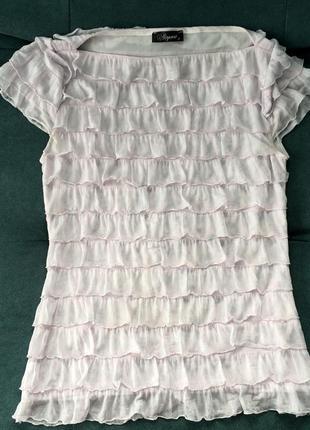 Воздушная нежная блуза