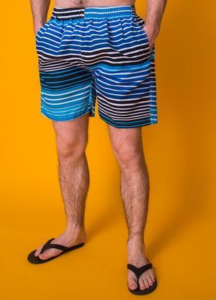Пляжные мужские шорты синиемужские