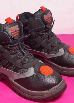 Детские  ботинки  эко-кожа  agaxy