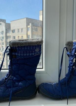 Зимние не промокающие сапоги columbia