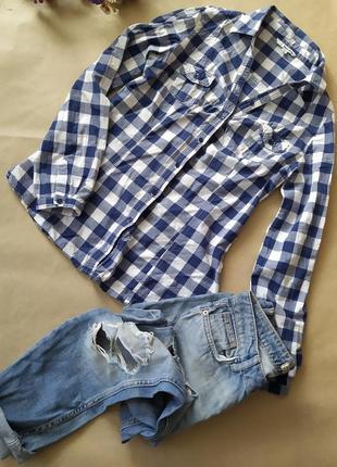 Котоновая супер красивая рубашка
